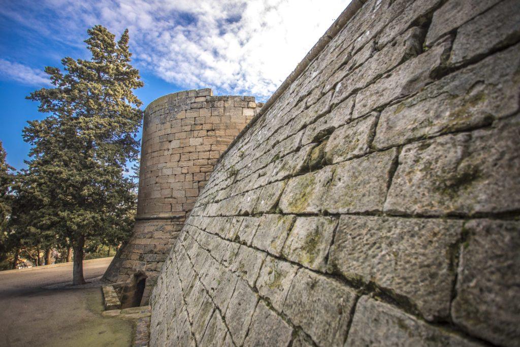 castell palau arbeca muralla
