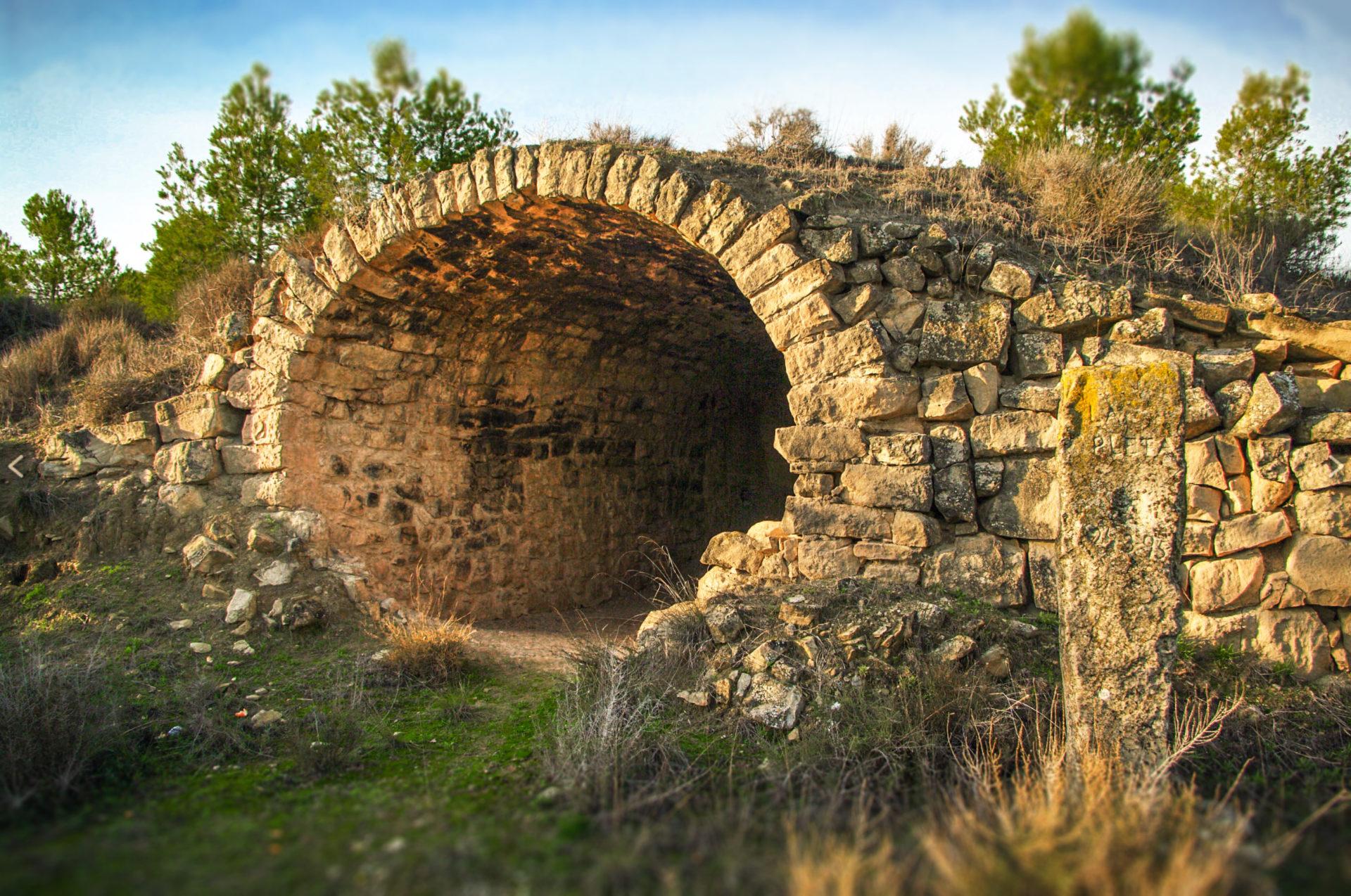 pedra seca arbeca garrigues ruta